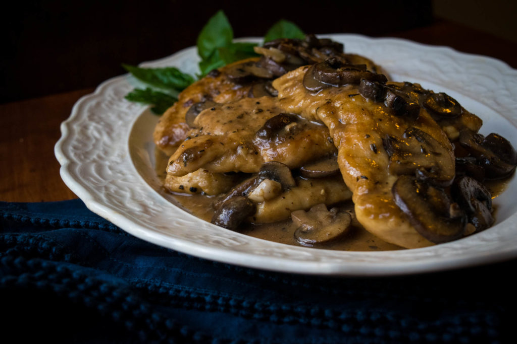weeknight chicken marsala