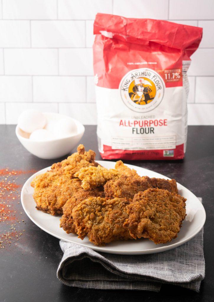 fried chicken ingredients