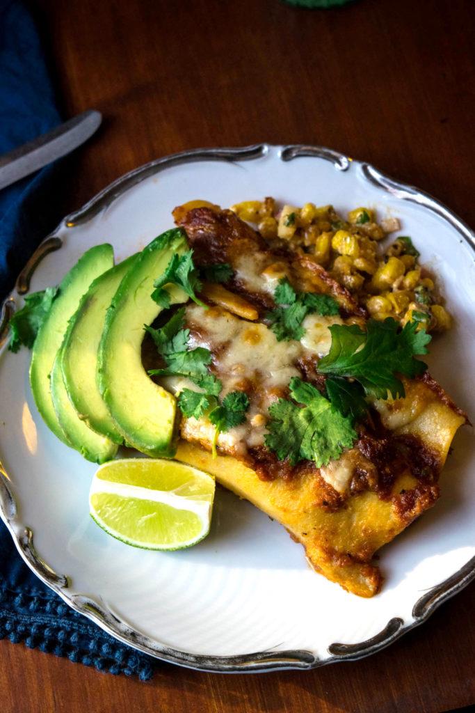 Beef Smoked Gouda Enchiladas