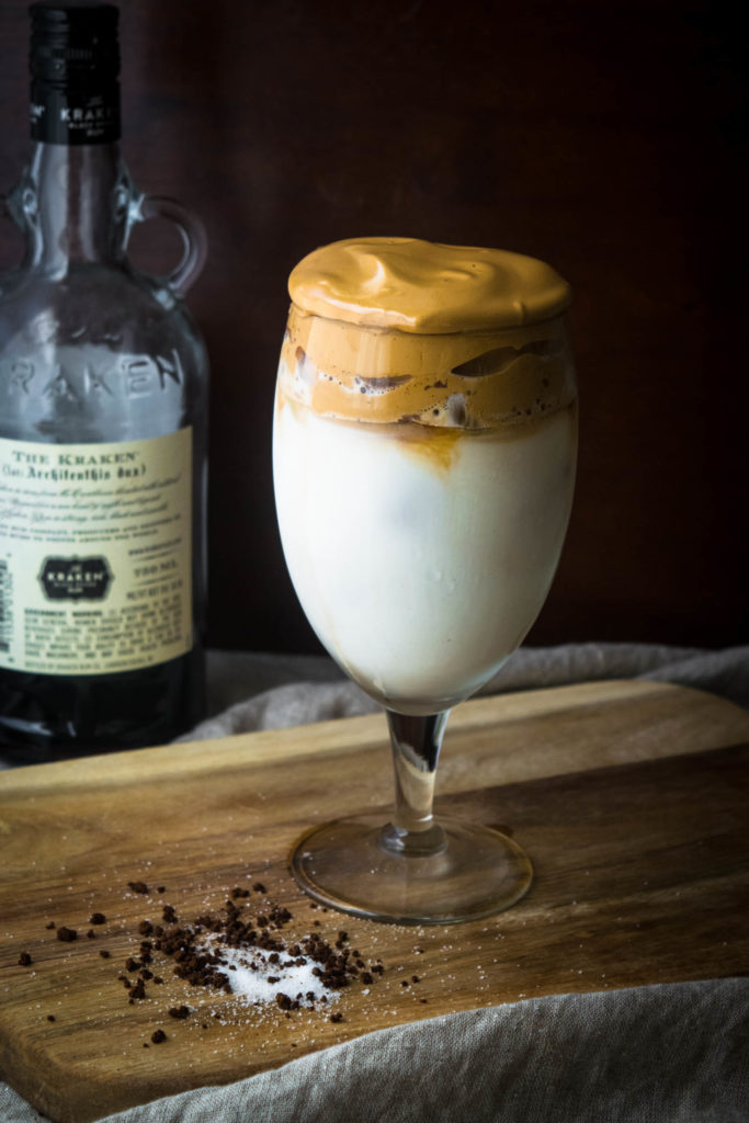 whipped dalgona coffee cocktail