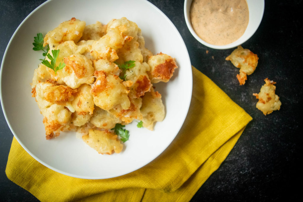 Pickle Beer Battered Cheese Curds
