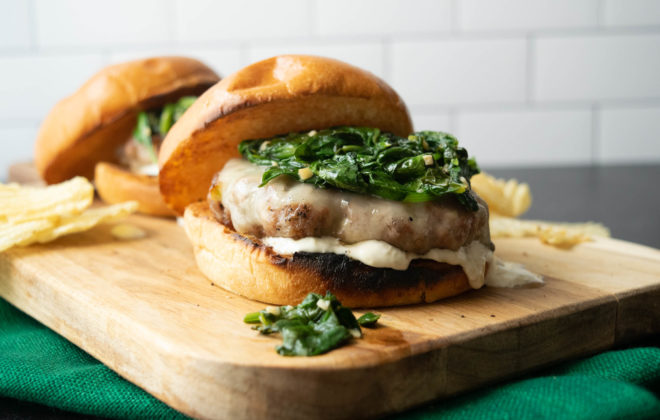 South Philly Italian Pork Burger