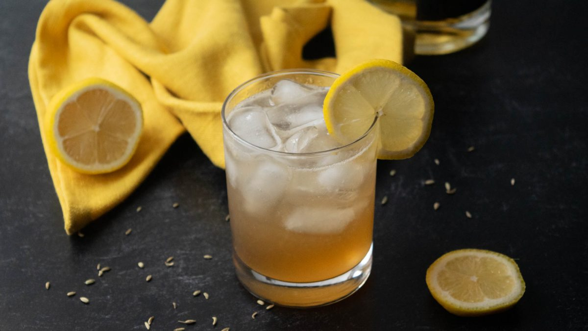 fennel bourbon vanilla slammer