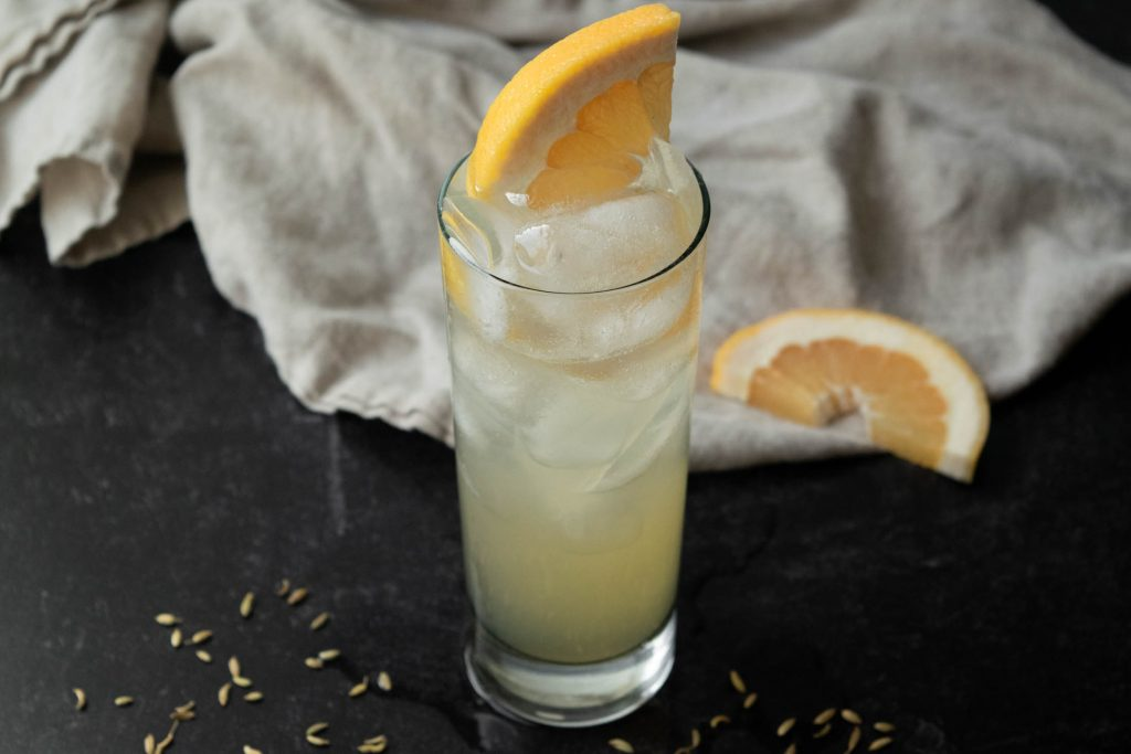fennel grapefruit vodka spritz