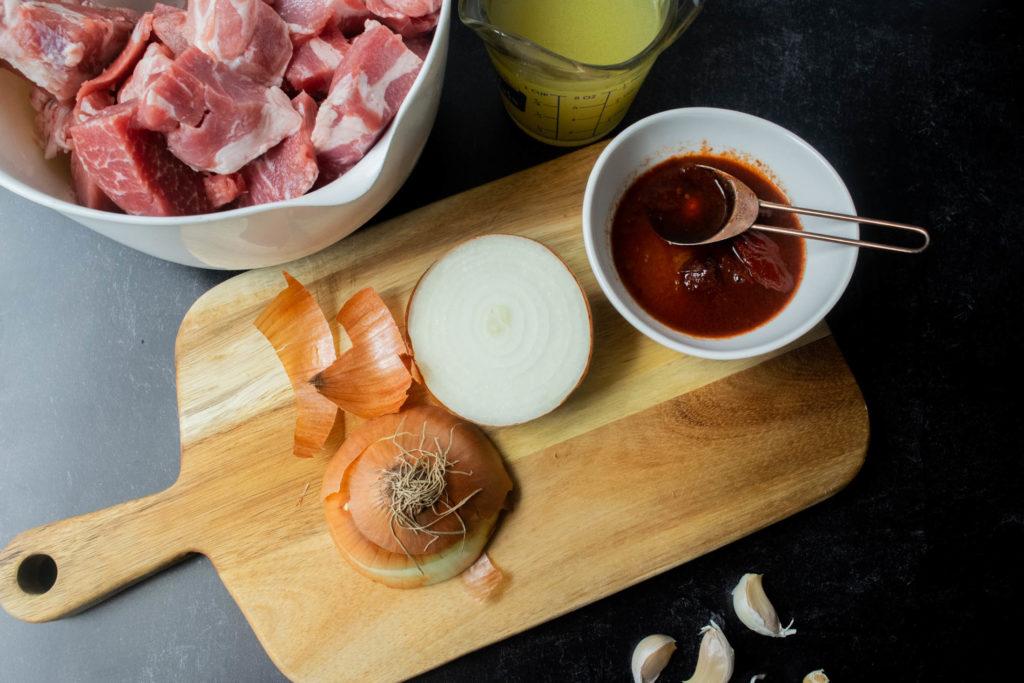 instant pot pork ingredients
