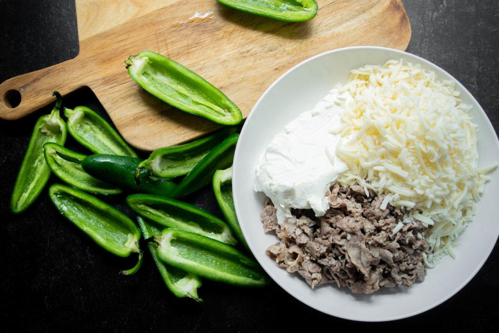prepared jalapeños