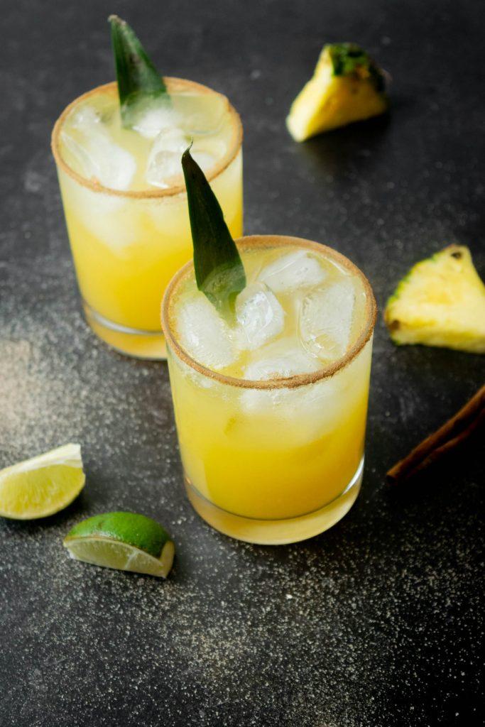 Tropical Pineapple Cinnamon Paloma