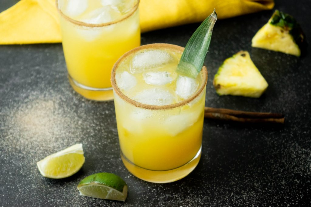 Tropical Thunder Pineapple Cinnamon Paloma