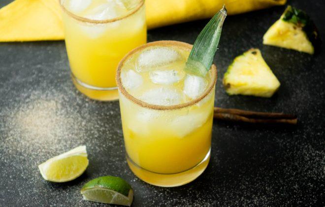 Tropical Thunder Pineapple Cinnamon Paloma