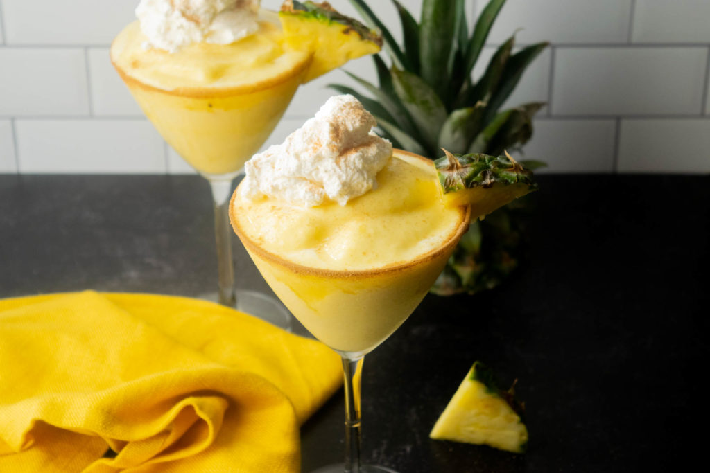 frozen pineapple cinnamon colada