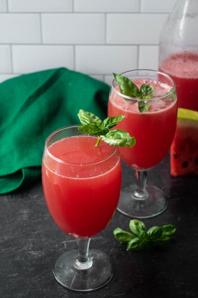 fresh watermelon juice cocktail