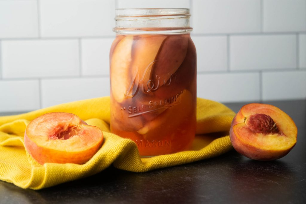 peach infused titos vodka