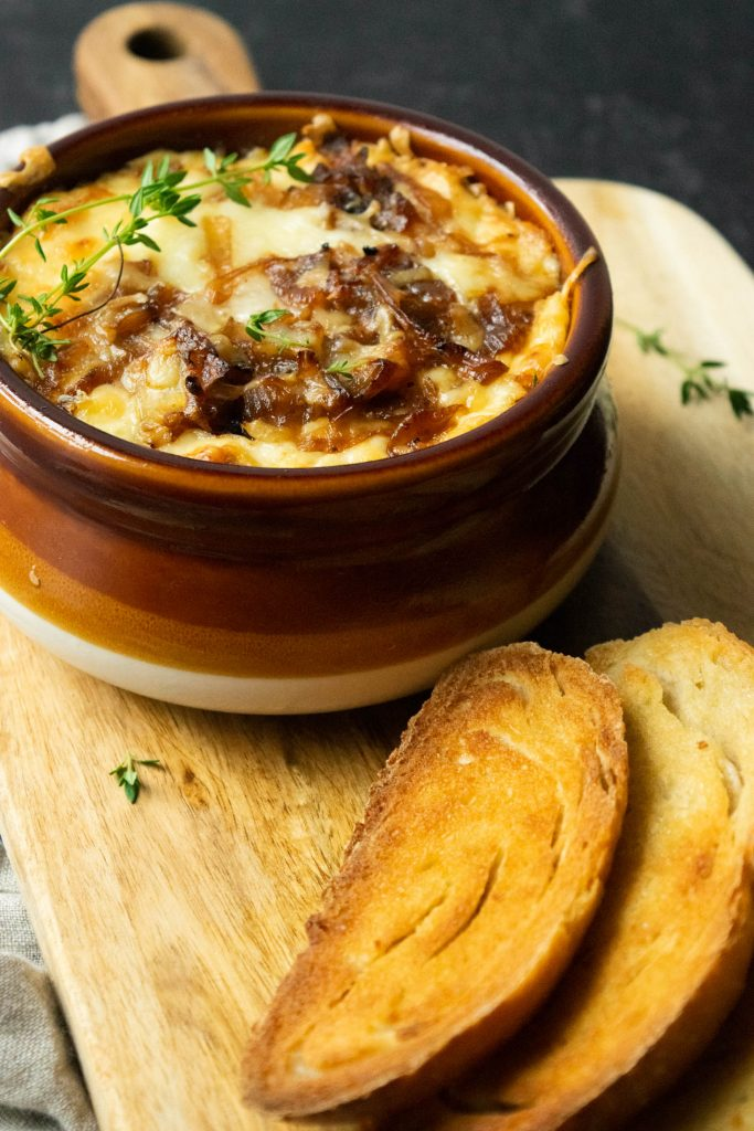 hot french onion soup dip