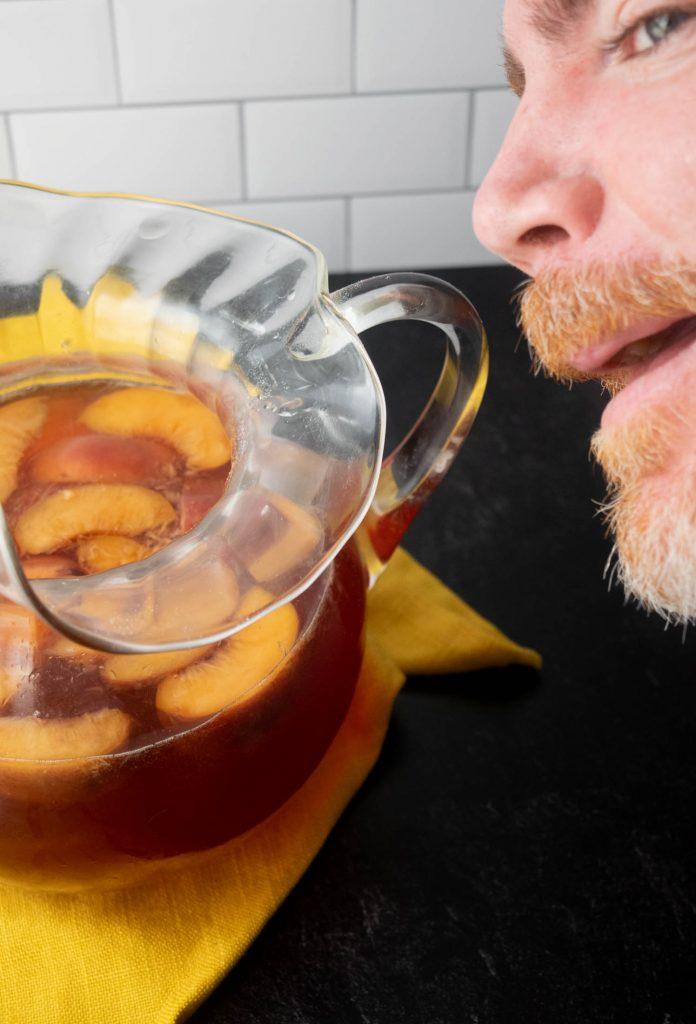 photo bomb vodka tea