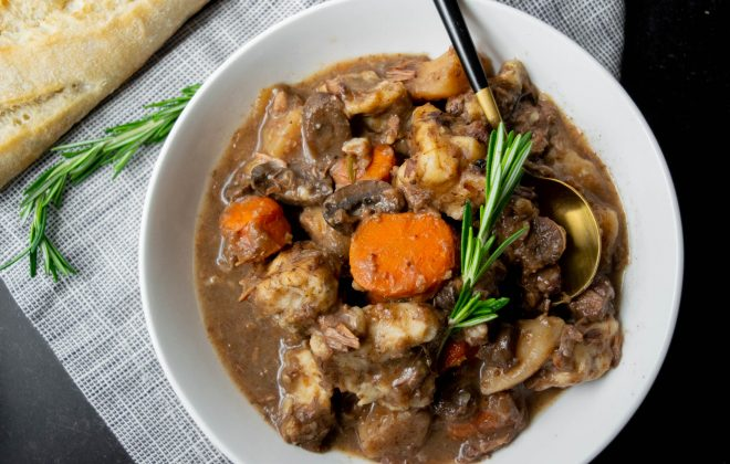crockpot beef stew with dumplings