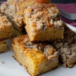 pear crumb coffee cake