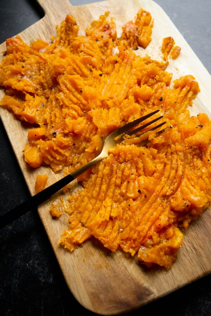 smashed butternut squash