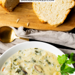 Instant Pot Chicken Gnocchi Soup with Mushrooms