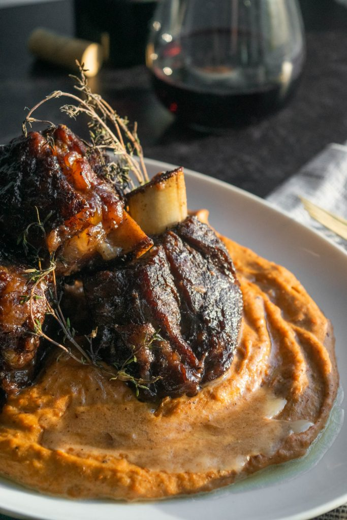 Short Ribs with Root Vegetable Purée
