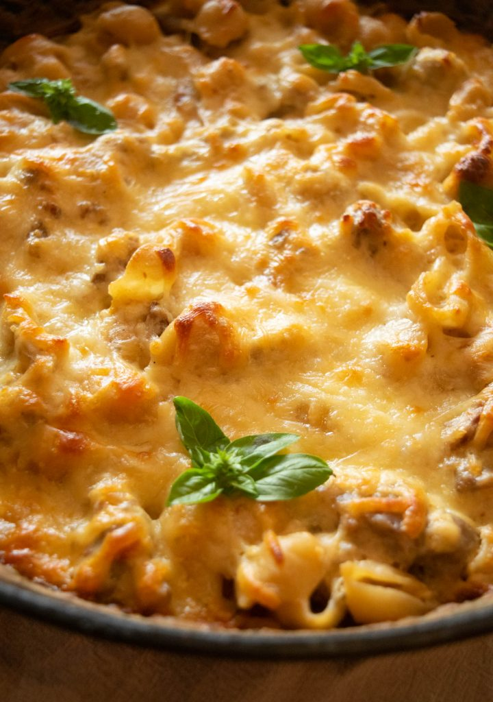 one pan pasta bake