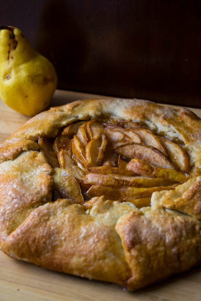 Pear and Fig Jam Galette