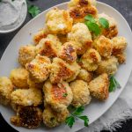 Baked Garlic Parmesan Cauliflower