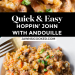 Quick & Easy Hoppin' John with Andouille