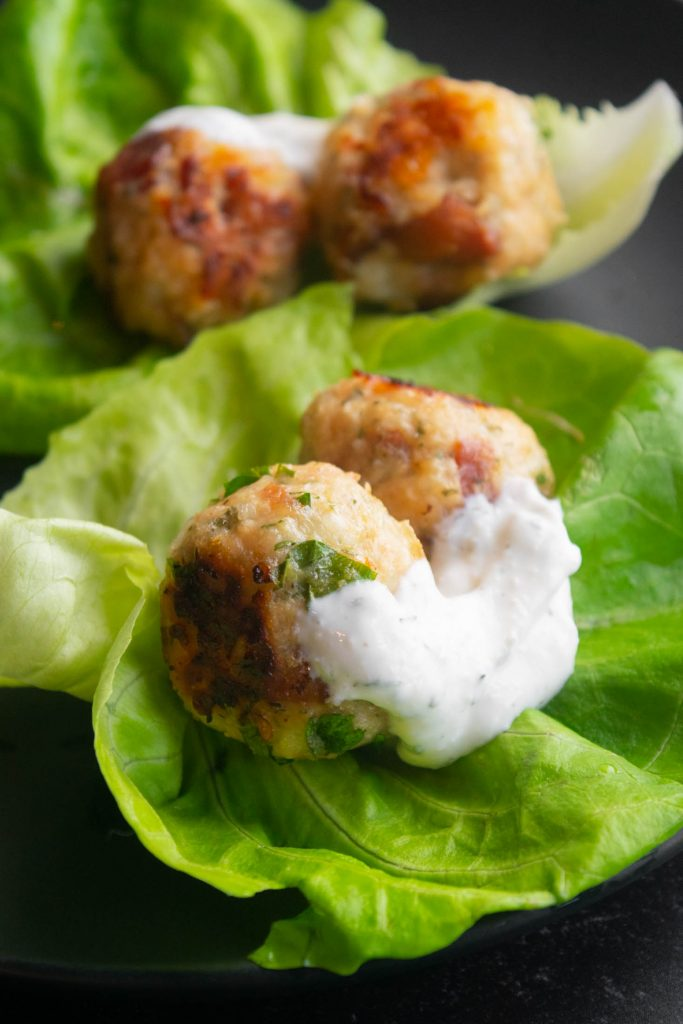 What to serve with chicken meatballs