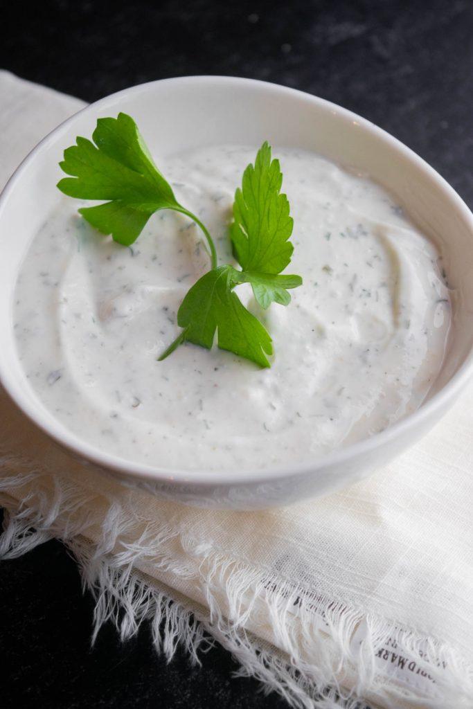 Easy Healthy Greek Yogurt Ranch