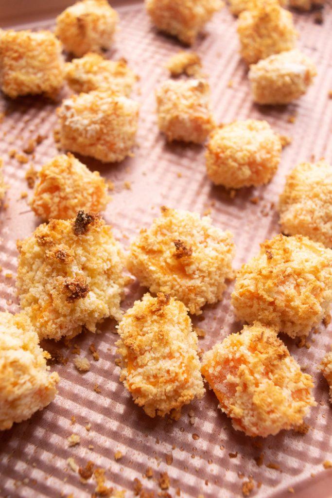 crispy oven baked sweet potato tempura