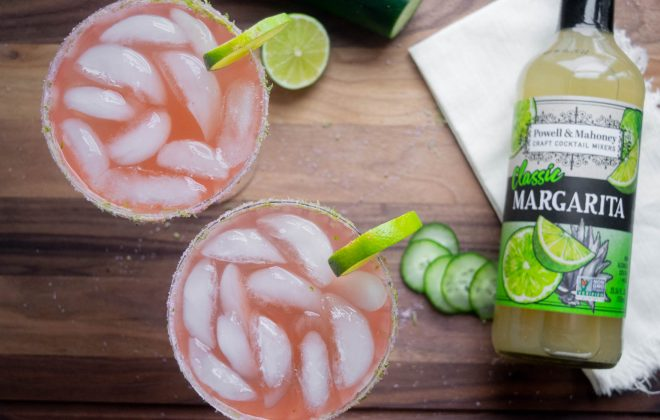 Cucumber Watermelon Margarita