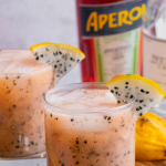 Dragon Fruit Vodka Cocktail with Aperol