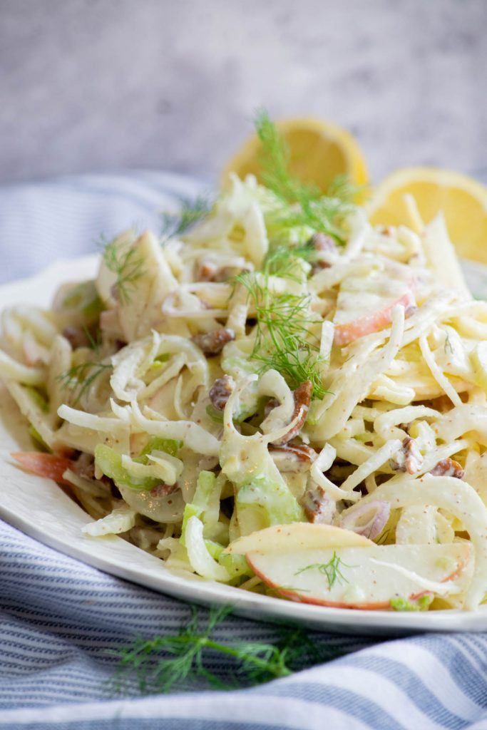 fennel salad with goat cheese dressing