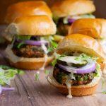 veggie burger sliders