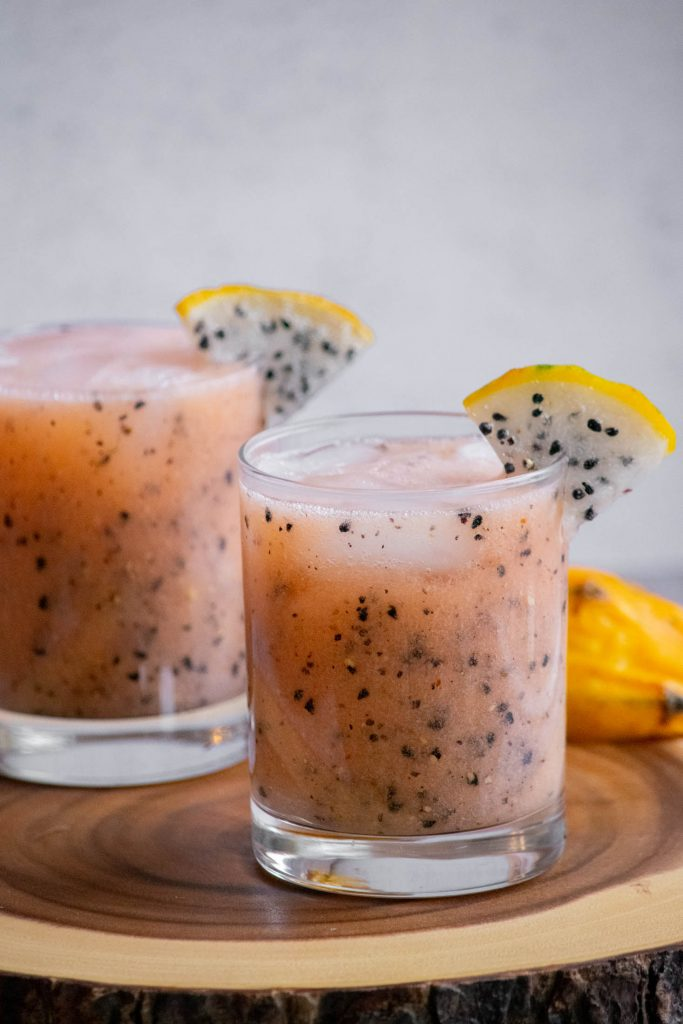 dragon fruit cocktails