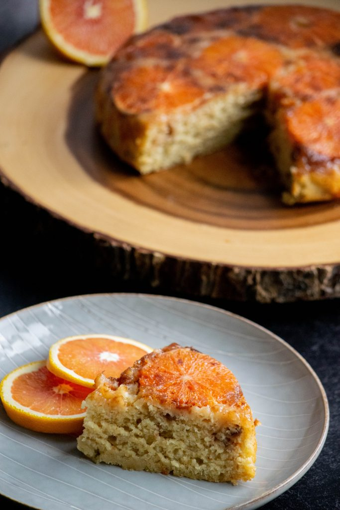 Orange Olive Oil Cake with Fig Jam